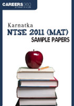 Karnataka NTSE 2011 (MAT) Sample Papers