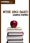 NTSE 2013 (MAT) Sample Papers