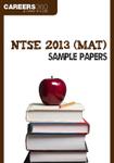 NTSE 2013 (MAT) Sample Papers