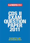 CDS II exam question paper 2011- Elementary Mathematics