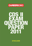 CDS II exam question paper 2011- English