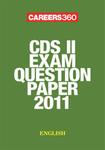 CDS II exam question paper 2011- English
