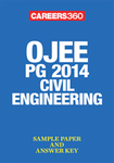 OJEE PG 2014 Civil Engineering Sample Paper & Answer Key