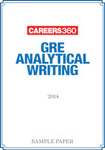 GRE Analytical Writing Sample Paper 2014