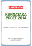 Karnataka PGCET 2014 Environmental Engineering Question Paper & Answer Key