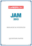 JAM 2013 Biological Sciences Question Paper