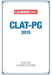 CLAT PG 2015 Solved Sample Paper