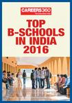 Top B-Schools in India 2016