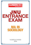 JNU Entrance Exam - MA in Sociology Sample Paper - 2014