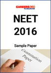 NEET 2016 Sample Paper