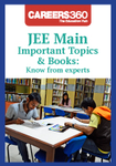 JEE Main Important Topics & Books: Know from experts