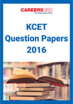 KCET Question Papers 2016