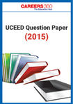 UCEED Question Paper 2015