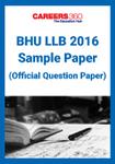 BHU LLB Sample Paper 2016