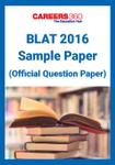 BLAT Sample Paper 2016