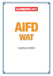 AIFD WAT Sample Papers