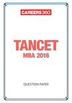 TANCET MBA 2016 Question Paper