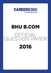 BHU B.Com Sample Paper 2016