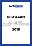BHU B.Com Sample Paper 2016