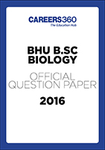 BHU B.Sc. Biology Sample Paper 2016