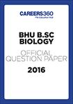 BHU B.Sc. Biology Sample Paper 2016