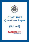 CLAT Sample Paper and Answer Key (Official) 2017