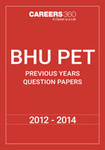 BHU PET Previous Years Question Papers (2012-2014)