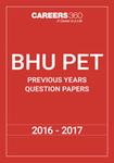 BHU PET Previous Years Question Papers- 2016-2017