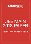 JEE Main 2018 Paper 2 Question Paper - Set S