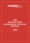JAM Mathematical Statistics Sample Paper 2018