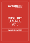 CBSE 10th Sample Paper 2015 Science