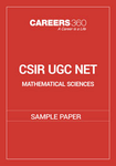 CSIR UGC NET Mathematical Sciences Sample Paper