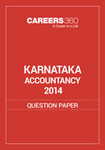 Karnataka 12th Accountancy Question Paper 2014