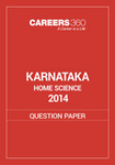 Karnataka 12th Home Science Question Paper 2014
