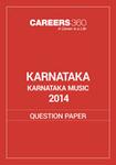 Karnataka 12th Karnataka Music Question Paper 2014