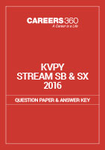 KVPY Question Paper 2016 Stream SB/SX