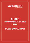 AHSEC Environmental Studies Model Sample Paper 2014