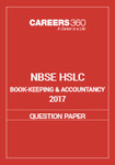 NBSE HSLC 2017 Question Paper - Book-Keeping & Accountancy