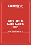 NBSE HSLC 2017 Question Paper - Mathematics