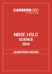 NBSE HSLC 2016 Question Paper - Science