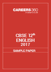 CBSE Sample papers for Class 12 English (2017)