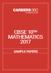 CBSE Sample Paper for class 10 Maths (2017)