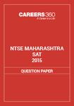 NTSE Maharashtra SAT Question Paper 2015
