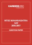 NTSE Maharashtra SAT Question Paper 2016-17