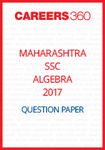 Maharashtra SSC Question Papers 2017 Algebra