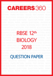 RBSE 12th Biology Question Paper 2018