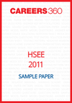 HSEE Sample Paper 2011