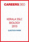 Kerala SSLC Biology Question Paper 2013