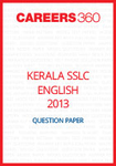 Kerala SSLC English Question Paper 2013