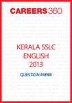 Kerala SSLC English Question Paper 2013